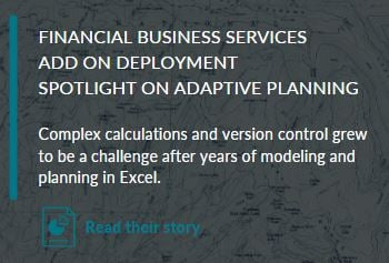 Adaptive site - FIN story 1