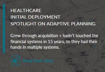Adaptive site - Healthcare story